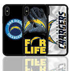 For iPhone 6 7 8 X XR XS Plus Los Angeles Chargers Football Silicone Case Cover $7.89 USD on eBay