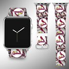 St. Louis Cardinals Apple Watch Band 38 40 42 44 mm Series 1 2 3 4 Wrist Strap 1 on Ebay
