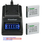 Kastar Battery LCD Quick Charger for Olympus Li-90B & Olympus Stylus SP-100 iHS