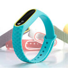 Silicone Bracelet Strap Wristband Wrist Band Replacement For Xiaomi Miband 2