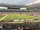 2 Patriots vs New York Jets Tickets 10/21 9th Row LOWERS Sec 103 MetLIfe Stadium