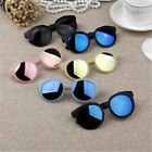 Внешний вид - Kids Sunglasses Reflective Mirror Colorful Children Sunglasses Boy Girl Goggles