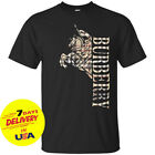 1Burberry T-Shirt London Knight Casual Men's Black T-Shirt Cotton Full Size image