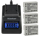 Kastar Battery LCD Quick Charger for Canon NB-10L CB-2LC Canon PowerShot SX50 HS