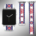 Chicago Cubs Apple Watch Band 38 40 42 44 mm Series 1 2 3 4 Wrist Strap 3 on Ebay