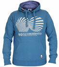 Crosshatch Mens Brand Printed Pullover Hoody Sweatshirt Hooded Top Collection