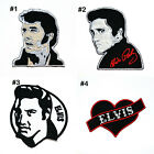 Retro Elvis Old School Singer Rockakilly Pop Rock Music Clothing Iron on Patch