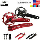 Внешний вид - IXF 30T 104bcd CNC MTB Bike Crankset BB Narrow Wide Chainring 170mm Single Crank