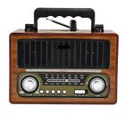 264240169046404000000001 1 - Radio altavoz portatil con Bluetooth USB SD/TF 220W O Pilas estilo retro
