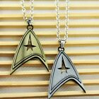 Star Trek Silver or Bronze Pendant Necklace ~ UK SELLER ~ on eBay