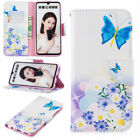 For Huawei Honor 10 8 Lite 8A 8S 7S Painted Leather Wallet Flip Stand Case Cover