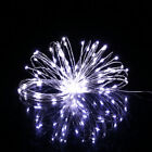 20M 200LED Silver Wire String Fairy Light Christmas Outdoor Decoration DC12V cu