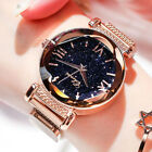 Ladies Watch Starry Sky Wrist Watch Women Bracelet Watches Magnetic Stainless image