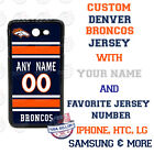 DENVER BRONCOS FOOTBALL JERSEY PHONE CASE COVER FOR iPHONE SAMSUNG etc Name $25.98 USD on eBay