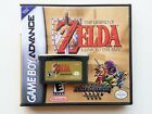 Legend of Zelda Link to the Past 4 Four Swords (Game + Case) Gameboy Advance GBA