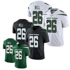 2019 New LeVeon Bell 26 New York Jets Mens Green White Jersey M 3XL