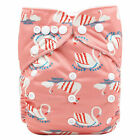 Baby Washable Diaper baby Reusable Waterproof Cloth Diaper Cover Infants Nappies