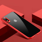 USAMS Crystal Clear Shockproof PC TPU Case Cover for Apple iPhone XS MAX XR X