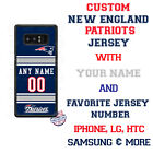 NFL NEW ENGLAND PATRIOTS JERSEY PHONE CASE COVER FOR iPHONE SAMSUNG MOTO LG etc $26.98 USD on eBay