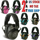 Ear MuffsTo Go Indoor Range Shooting Hearing Protection Low Profile Passive Fold