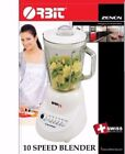 Orbit 10 Speed Glass Blender Kitchen Counter Top Smoothies Shakes Ice Wholesale