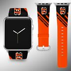 Cincinnati Bengals Apple Watch Band 38 40 42 44 mm Series 1 2 3 4 Wrist Strap 05 on eBay