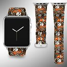 Cleveland Browns Apple Watch Band 38 40 42 44 mm Series 5 1 2 3 4 Wrist Strap 04 $32.99 USD on eBay