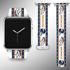 Denver Broncos Apple Watch Band 38 40 42 44 mm Series 1 2 3 4 Wrist Strap 04 on eBay