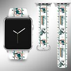 Miami Dolphins Apple Watch Band 38 40 42 44 mm Series 1 2 3 4 Wrist Strap 05 on eBay