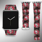 San Francisco 49ers Apple Watch Band 38 40 42 44 mm Series 1 2 3 4 Wrist Strap on eBay