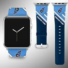 Tennessee Titans Apple Watch Band 38 40 42 44 mm Series 5 1 2 3 4 Wrist Strap 05 $32.99 USD on eBay