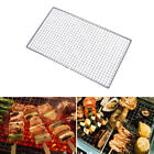 US BBQ Grilling Basket Stainless Steel Mesh Wire Net Outdoor DIY Barbecue Picnic