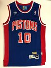 Men's Detroit Pistons #10 Dennis Rodman Jersey on eBay