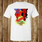 NEW SPIDERMAN DEADPOOL IN VALENTINE HEARTS NEW UNISEX USA SIZE T-SHIRT EN1