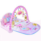 3 In 1 Baby Fitness Kid Play Musical Piano Gym Play Carpet Activity Exercise Mat