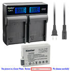 Kastar Battery LCD Rapid Charger for Canon LP-E8 LC-E8 & Canon EOS 650D Camera