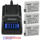 Kastar Battery LCD Quick Charger for Canon LP-E8 LPE8 Canon EOS Rebel T3i Camera