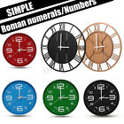 Modern Design Wall Clock Large Round Watch Home Decor Silent Skeleton Numeral