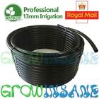 Antelco 13mm 1/2 inch Garden Irrigation Black LDPE Supply Pipe Hozelock Comp.