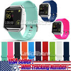 US For Fitbit Blaze Watch Replaces Silicone Rubber Band Sport Watch Band Strap x image
