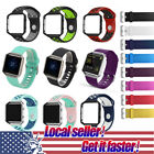 US Replacement Bracelet For Fitbit Blaze Watch Silicone Rubber Watchband Strap x