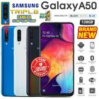 New&sealed Factory Unlocked Samsung Galaxy A50 Black Blue White Android Phone
