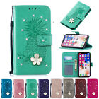 Diamond Stand Leather Card Wallet Case Cover For iPhone X XR XS Max 7 8 6s Plus