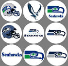 "Seattle Seahawks Set of 9 Buttons or Magnets 1.25"" NEW $4.5 USD on eBay"