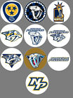 "Nashville Predators set of 10 Buttons or Magnets Set 1.25"" NEW $5.0 USD on eBay"