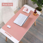 Leather Office Computer Desk Mat Table Game Keyboard Mouse Pad Laptop Cushion Ye