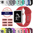 Sport Silicon Watch Band Strap for Apple Watch iWatch Series 5 4 3 40mm 44mm 42m image