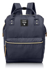 New Japan Anello Backpack Unisex Large Waterproof Canvas Bag AT-B0193A