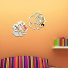 Romantic Rose Flower Wall Decals Stickers Backdrop Home Decor Nursery Decals