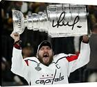 Canvas Wall Art: Washington Capitals - Alex Ovechkin The Stanley Cup Autograph R $89.99 USD on eBay